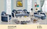 أزرق اللون، بسيطة نيو كلاسيك أريكة، نسيج أريكة (F530)