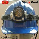 Chapéu duro de mineiro de carvão do V-Shape com luz