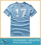 カスタム人の方法によってとかされる綿の印刷のティーワイシャツ