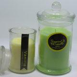 Wholessle freier Zoll-duftendes Glas rüttelt Kerzen im Glasglas