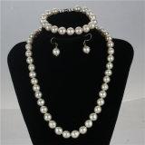 Комплект ожерелья перлы свежей воды сбывания Snh Nautral горячий