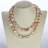 Collar de perlas snh 36inches de la manera larga para la Mujer