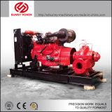 pompe à l'eau 8inch diesel pour l'irrigation/évacuation d'inondation avec la double aspiration