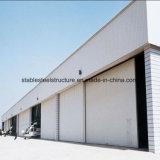 Construction structurale en acier fabriquée de cloche pour le hangar