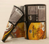 Aluminium en plastique Stand up Coffee Food Packaging Gusset Bag
