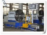 Lathe CNC высокого качества Китая горизонтальный для поворачивать тепловозное колесо инженера (CK61160)