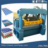 Het Metaal dat van het koudgewalste Blad die Machine vormt in China wordt gemaakt