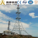 Torretta di comunicazione d'acciaio di GSM di angolo