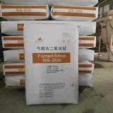 Noir de charbon blanc, silice, silice émise de la vapeur hydrophile 200 avec la norme de qualité et prix usine