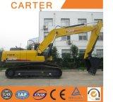 Excavatrice lourde de ventes de Carter CT240-8c de pelle rétro hydraulique chaude de chenille