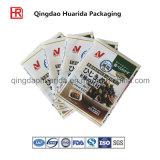 Sachets en plastique zip-lock estampés par coutume de empaquetage comiques de Chocolated avec la bonne qualité