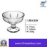 アイスクリームのガラス・ボールのガラスタンブラーボールの台所用品のKbHn0631