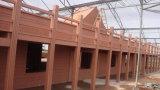 Engenharia composta plástica de madeira do Decking