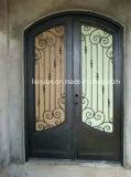 Portas da rua superiores personalizadas do ferro feito de Eyebrown