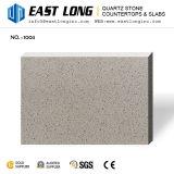 Partie supérieure du comptoir grises artificielles de pierre de quartz pour les brames conçues de panneau de /Wall