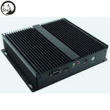 Intel I3 3217u 1.80GHz Dual Core CPU avec 6 COM / 6 USB Thin Client Mini ventilateur sans fil
