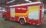 Isuzu caminhão dobro 6000 litro caminhão da luta contra o incêndio do táxi de 6 T de petroleiro do incêndio da água