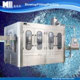 Máquina que capsula de relleno que se lava de la botella de agua de la botella del animal doméstico de la alta precisión de la aprobación de la ISO