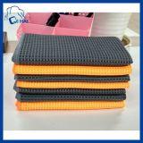 Paño de limpieza de microfibra Honeycomb toalla (QHDFF995467)