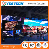 Visualizzazione di LED esterna di colore completo P4 che fa pubblicità al comitato