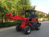 Carregador de rodas hidráulico Joystick Wl100 como equipamento agrícola na Suécia