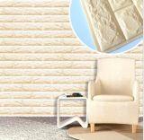 Облегченные водоустойчивые панель/стикер/бумага кирпичной стены пены