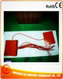 calefator da impressora da borracha de silicone 3D de 24V 250W 200*200*1.5mm