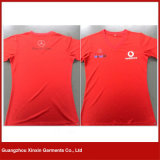 Kundenspezifischer kurzer Hülsen-Sport-Shirt-Hersteller (R60)