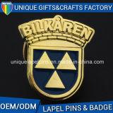 Distintivo della lega del metallo