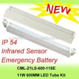 Tubo dell'indicatore luminoso Emergency LED con il sensore, IP54, 11W, CE, RoHS