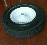 4.10 pneu 3.50-6 livre liso na roda