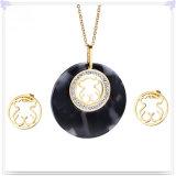 De Reeksen van de Juwelen van het Roestvrij staal van de Toebehoren van de Manier van de Juwelen van de manier (JS0255)