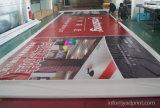 Печатание цифров нестандартной конструкции напольное рекламируя знамя винила PVC