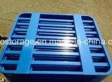 Aprobado CE personalizada Depósito de almacenamiento de doble cara del metal del acero Pallet