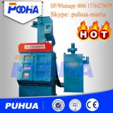 Máquina de la ráfaga de la máquina/de la caída del chorreo con granalla de la correa de la caída Q32/pequeña máquina del chorreo con granalla