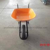 Carrinho de mão de roda resistente da construção