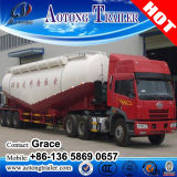 Aotongの三車軸は60tons 40トンの80tonsバルクセメントの粉のタンカーのセミトレーラー、空気圧縮機が付いているセメントのBulkerのキャリアのトラックのトレーラーを乾燥する