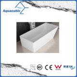 浴室の正方形のアクリルの支えがない浴槽(AB1506W)