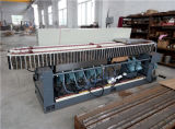 Steel Cover Striaght Line 9 Spindles Flat et 45 Degree Glass Edging Machine