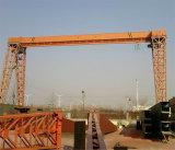 10トンの単一のガードのガントリークレーン(MH)