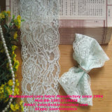 Alta qualità Nylon Raschel Lace Trimming per Lady Lingerie