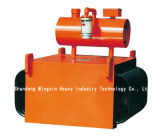 Rcde 기름에 의하여 냉각된 현탁액 유형 전자기 분리기는 물결 모양 방열기, 통제 온도 상승을 채택한다