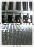 Верхней части копья порошка панель загородки пикетчика Coated стальная