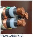 кабель медного провода электрический XLPE проводника 3core