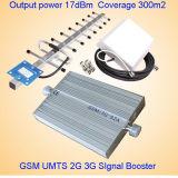 듀얼-밴드 2g 3G 이동할 수 있는 신호 증폭기