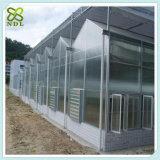 Casa verde da colheita autônoma com projeto de inclinação
