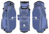 Мешок тележки гольфа с кожей PU и OEM ваш логос