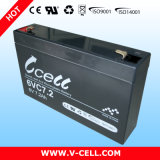 6V7.2ah AGM Lead Acid Rechargeable Battery