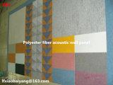 Panneau de plafond acoustique de panneau de décoration de panneau de panneau de mur d'écran antibruit de fibre de polyester