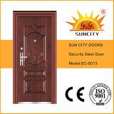 El último diseño Puertas de seguridad de una puerta del diseño del acero (SC-S013)